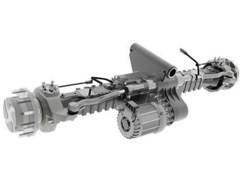 Spicer Electrified eSA201 e-Axle