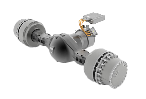 Spicer Electrified with TM4 eS20D e-Axle